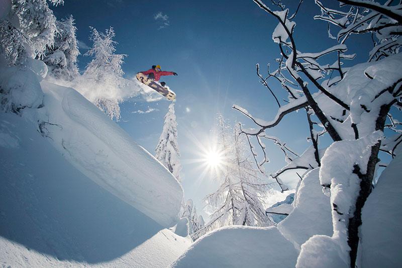 Snowboarden in Kärnten