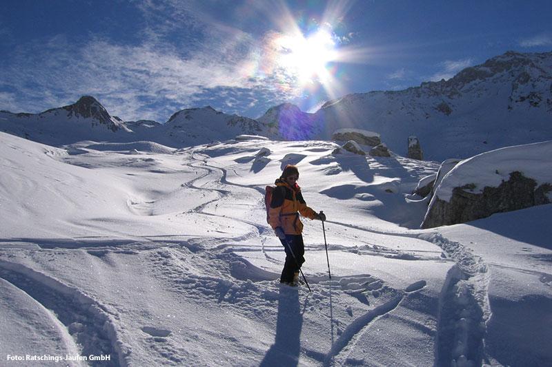 Skitouren in der Bergwelt von Ratschings