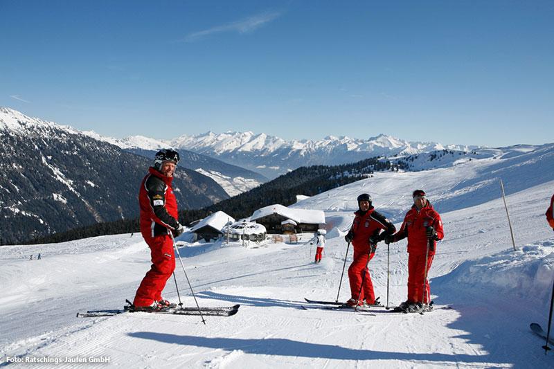 Wasserfalleralm im Skigebiet Ratschings-Jaufen