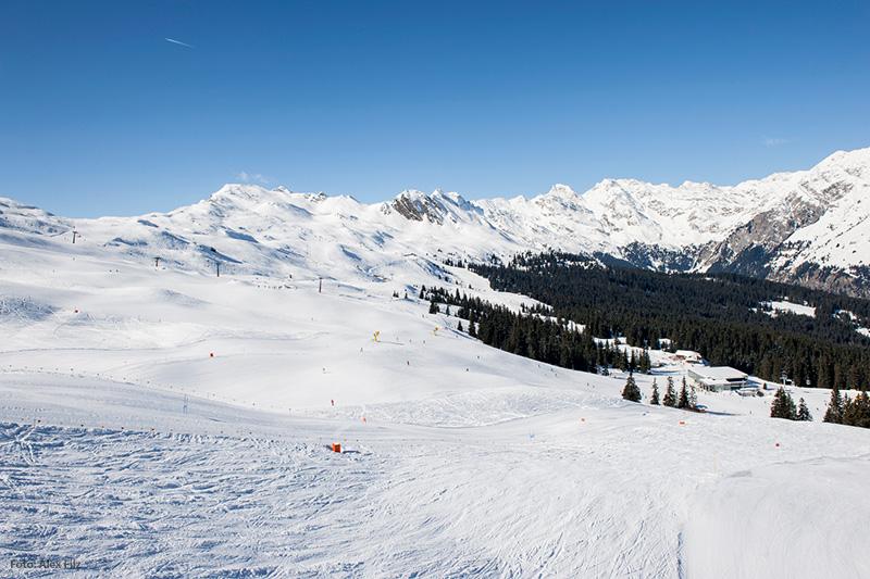 Piste im Skigebiet Ratschings-Jaufen