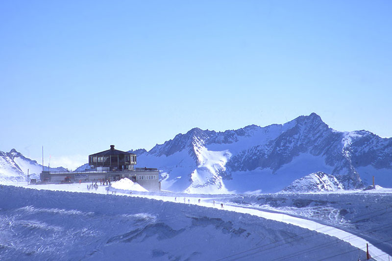 Drehrestaurant Allalin auf 3.500 m