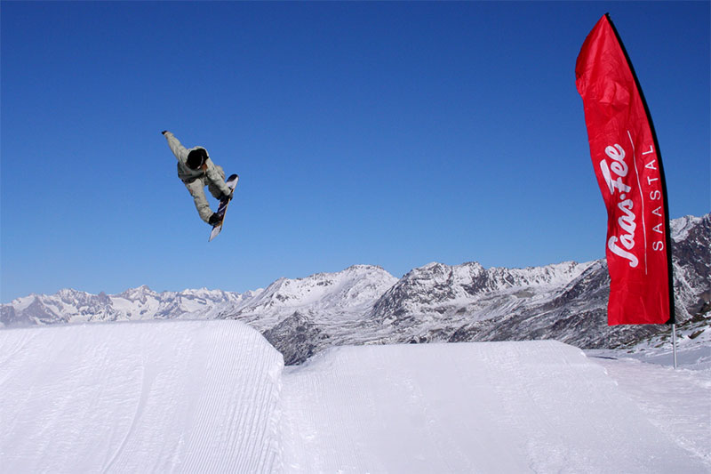 Freestyle-Park Saas-Fee