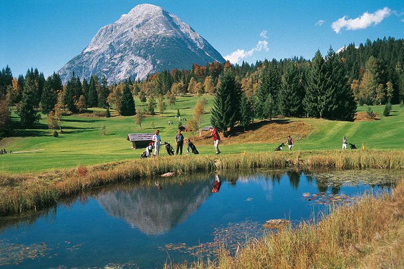 Golfurlaub in Tirol - Golfplatz Wildmoos