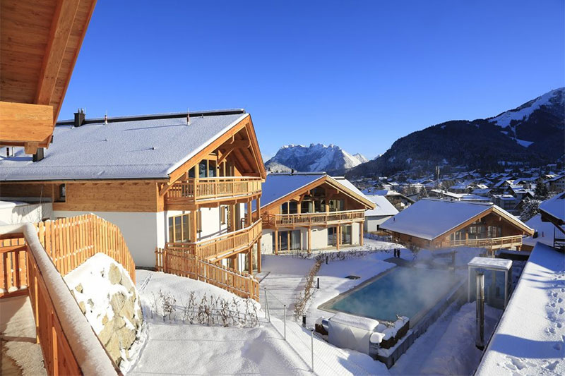 Winterurlaub im Mountain-Chalet in Seefeld
