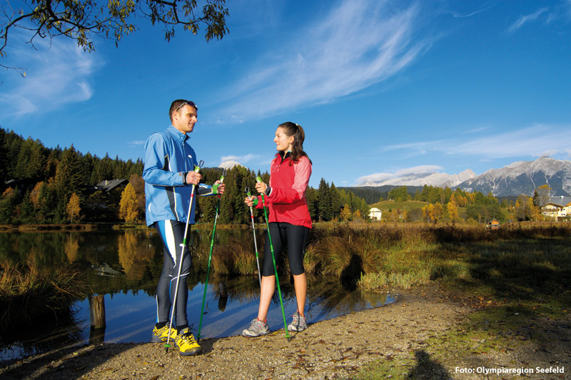 Nordic Walking in Seefeld