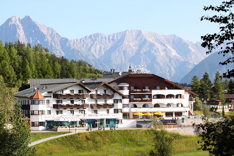 Sommerurlaub im 4-Sterne Hotel St. Peter in Seefeld/ Tirol