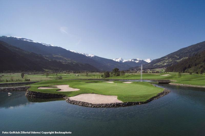 Golfplatz Zillertal Uderns - 5 Automin. entfernt