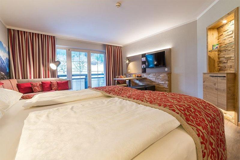 Kuschelnest Suite für 2 bis 5 Personen (38 - 42 m²)