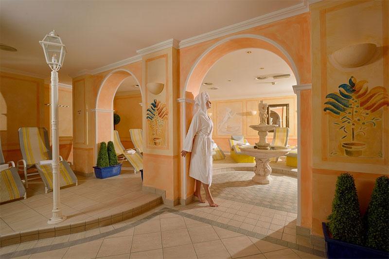 Saunabereich im Wohlfühlhotel Schiestl