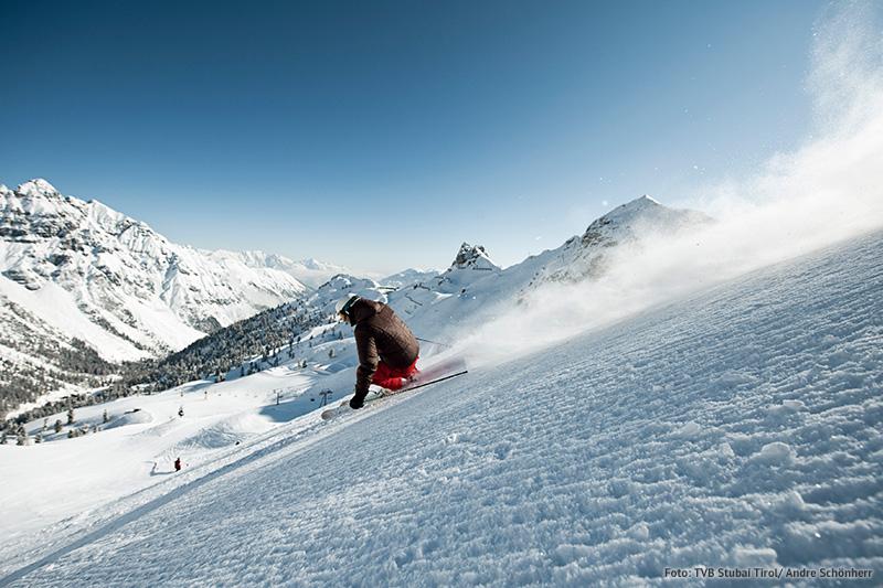 Abwechslungsreiches Pistenangebot im Skizentrum Schlick2000