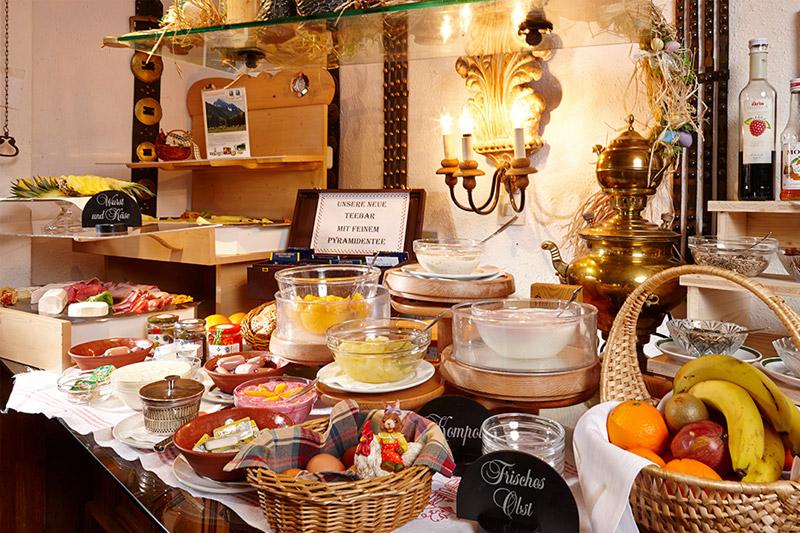 Bichlerhof Frühstücksbuffet