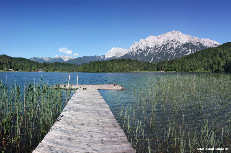 Lautersee in Mittenwald