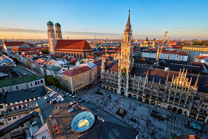 Das Hotel ist nur 1 Stunde von München entfernt