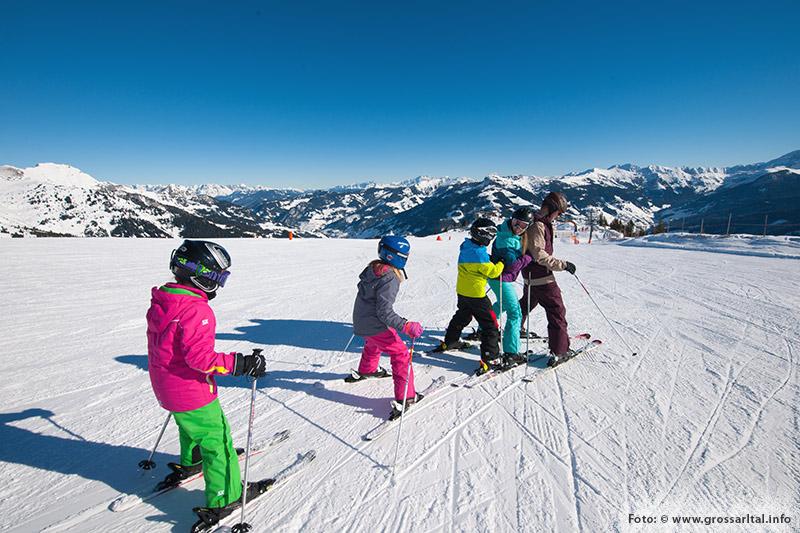 Familienskiurlaub Ski amadé