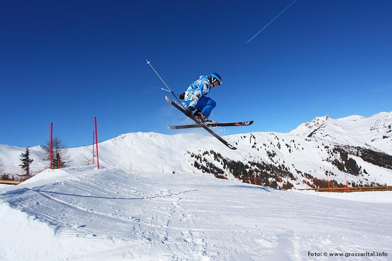 Funpark für Snowboarder, Freeskier & Freestyler