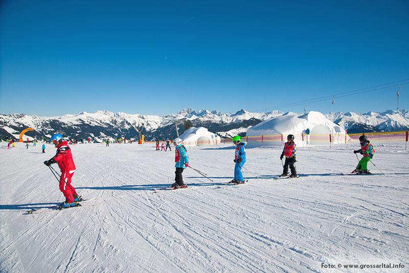 Kinder-Skikurs im Großarltal