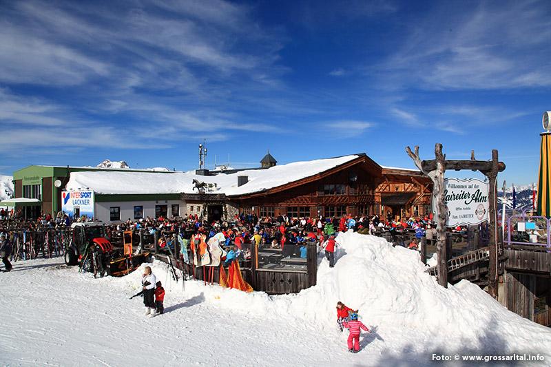 Laireiteralm im Skigebiet Großarltal