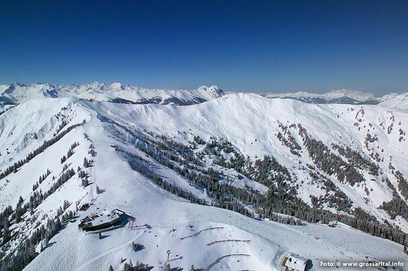 Skigebiet Großarltal West