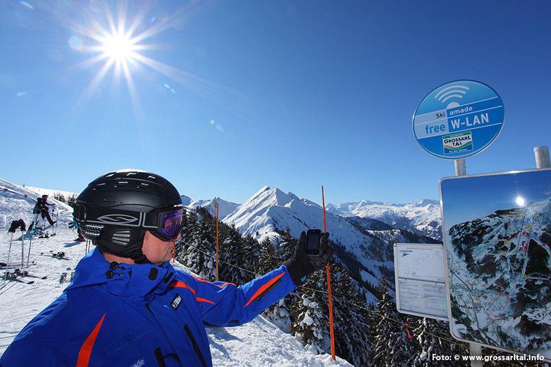 Gratis WLAN im Skigebiet Großarltal