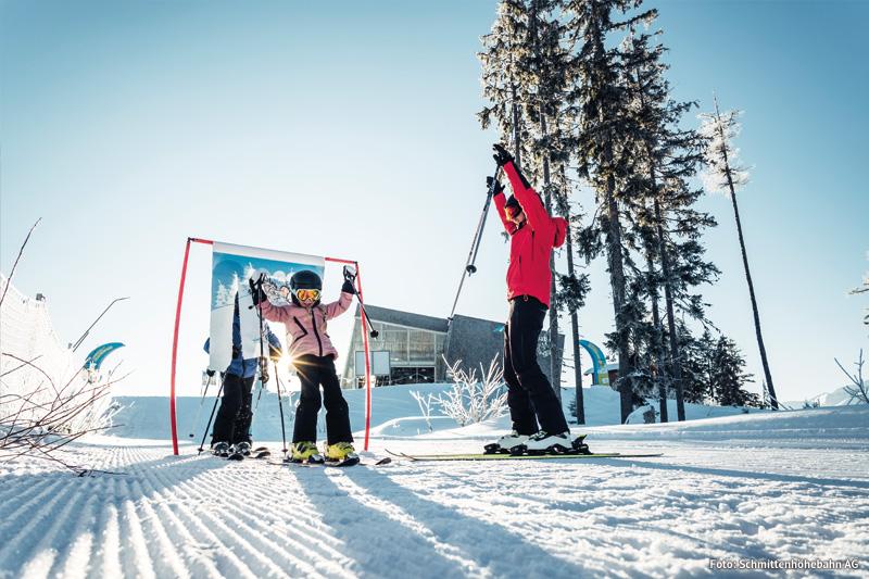 Schmittenhöhe gehört zu den Top-Familienskigebieten Österreichs