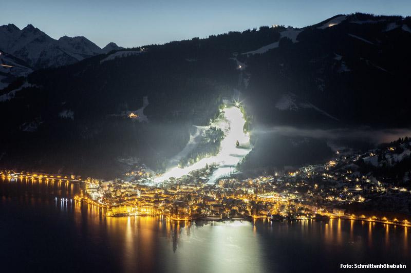 Nachtskifahren in Schmitten