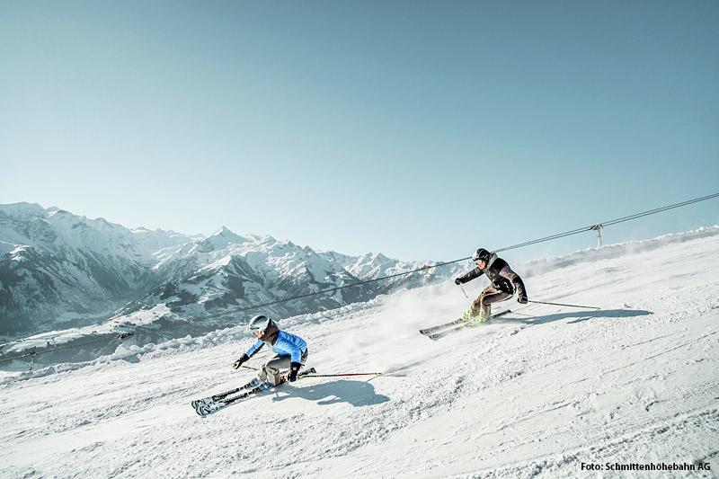 Skifahren in Schmitten