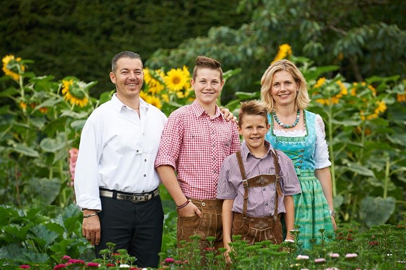 Ihre Gastgeberfamilie Hilpold