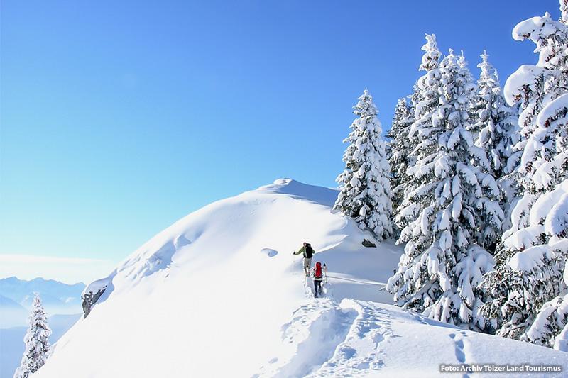 Winterurlaub im Tölzer Land
