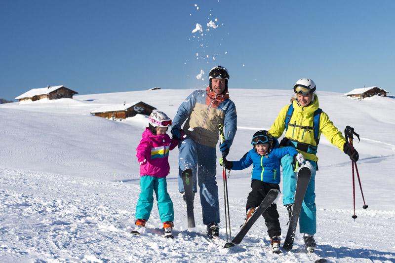 Familienskiurlaub in der Almenwelt Lofer