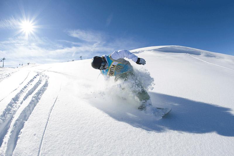 Snowboarden in der Almenwelt Lofer