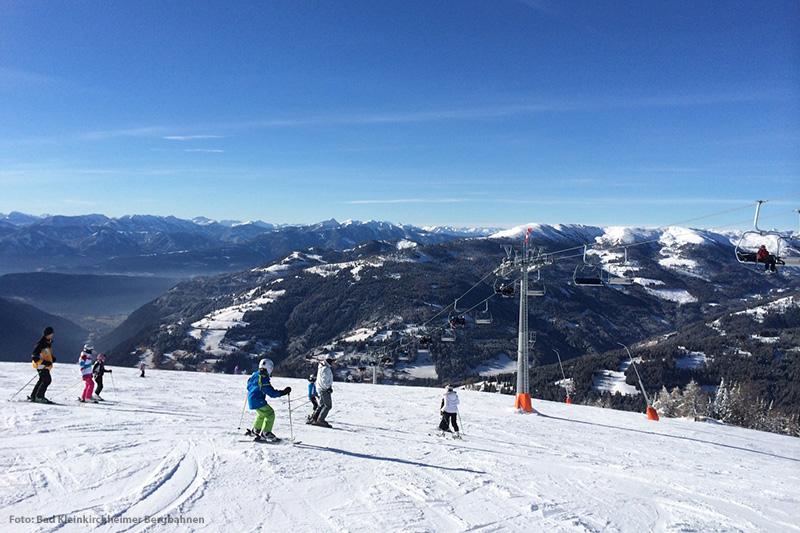 Skifahren im Skigebiet Bad Kleinkirchheim
