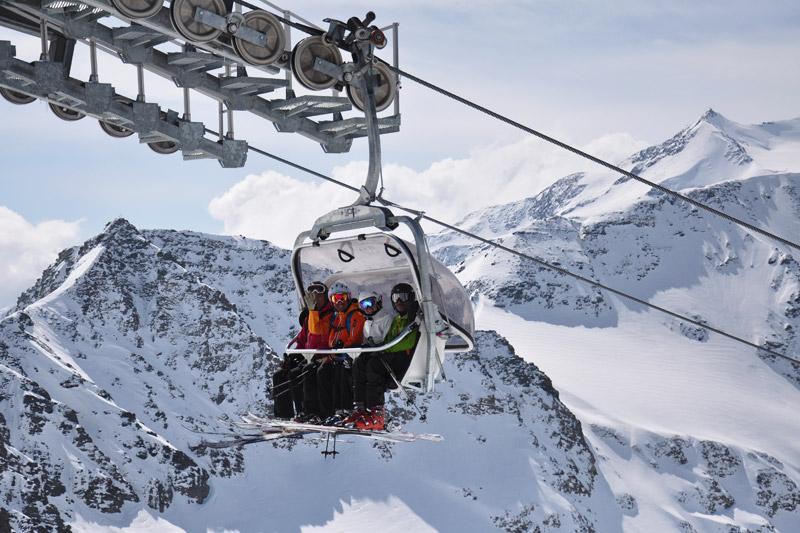 Skilift in Sulden