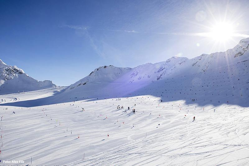 Gletscherpiste Grawand