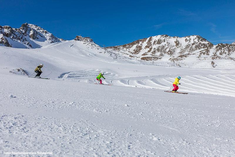 Skigebiet Schnalstaler Gletscher