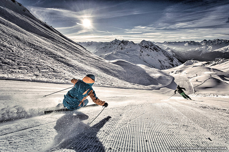 Erlebe 140 Pistenkilometer, 7 Black Scorpions, die längste Talabfahrt Vorarlbergs