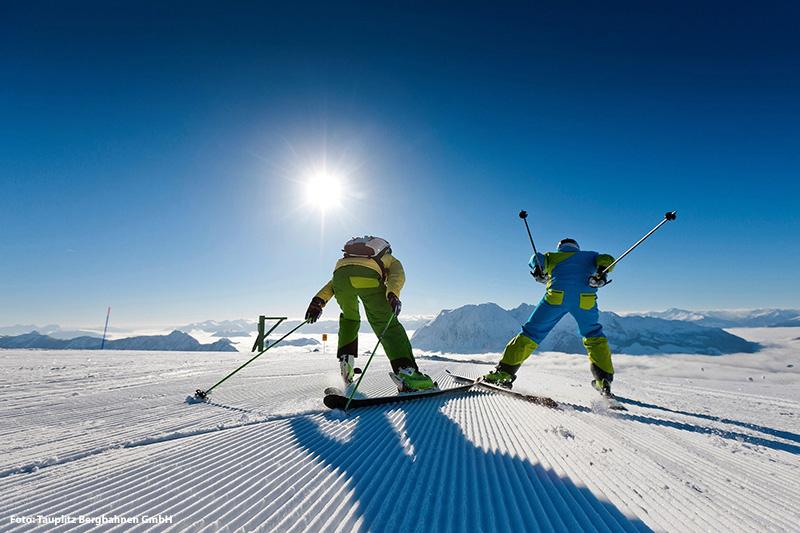 Skifahren im Skigebiet Tauplitzalm