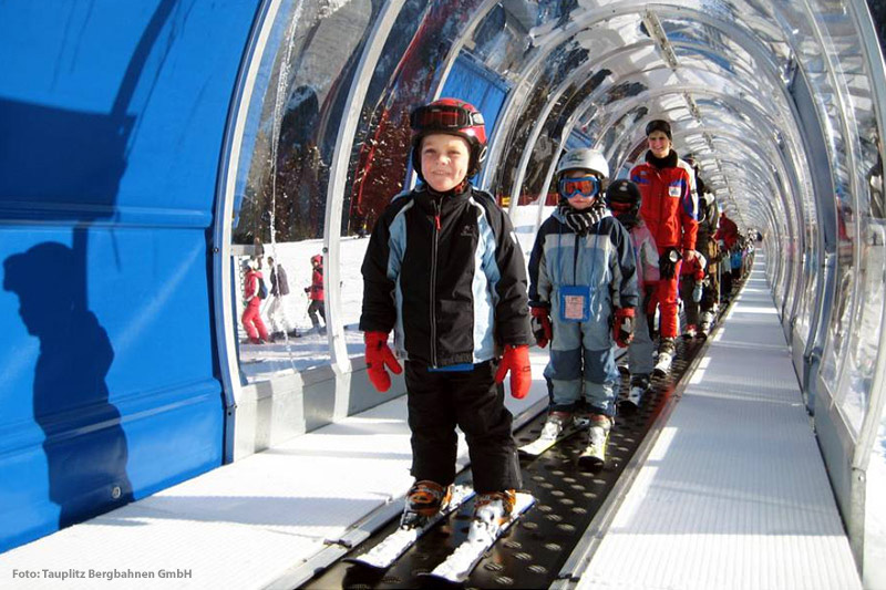 Zauberteppisch im Skigebiet Tauplitzalm