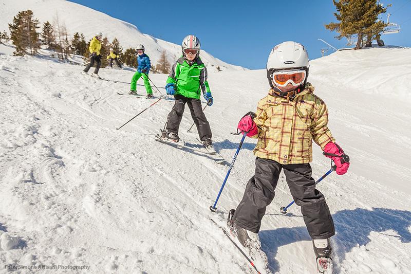 Familienurlaub im Skigebiet Turracher Höhe