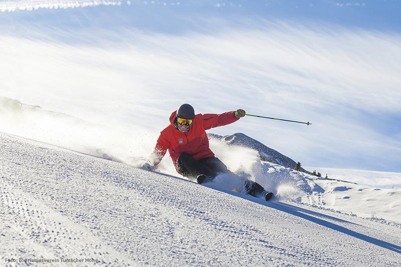 Skifahren im Skigebiet Turracher Höhe