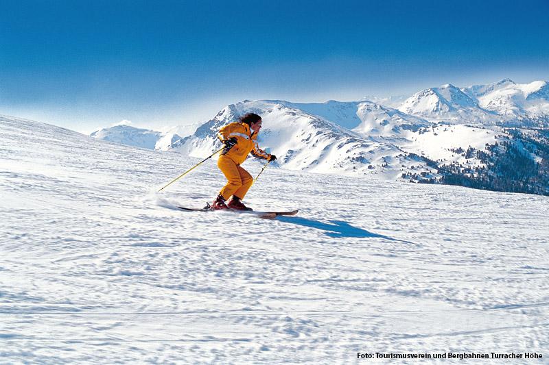 Skifahren in der Turracher Höhe