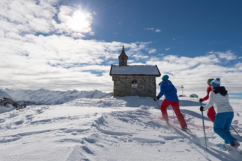 Sportliche und erholsame Erlebnisse im Winter in und rund um Neukirchen und Bramberg