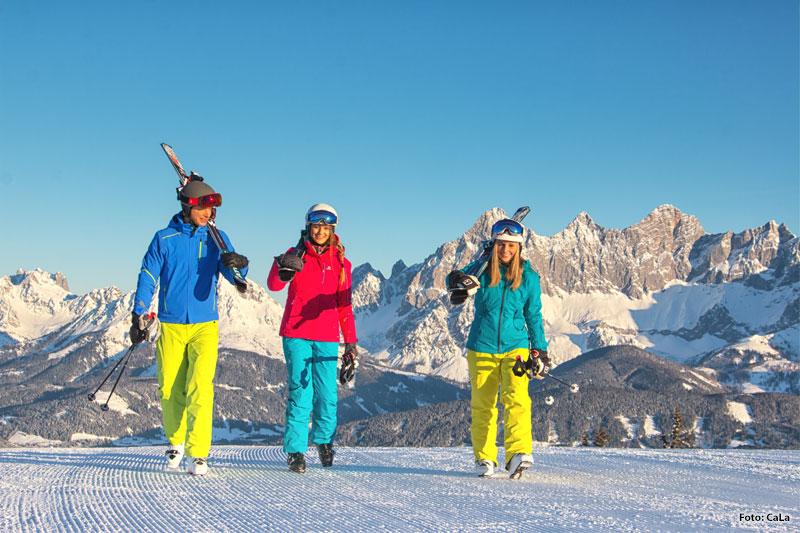 Skifahren in Hochwurzen