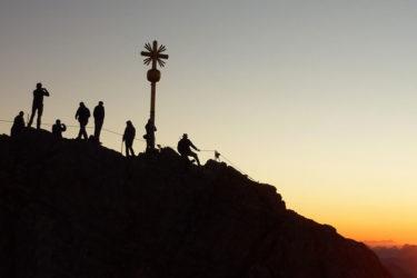 Wanderung bis zum Gipfel