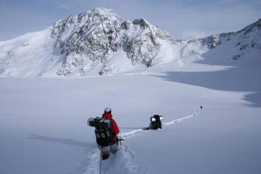 Schneesaison in den Alpen