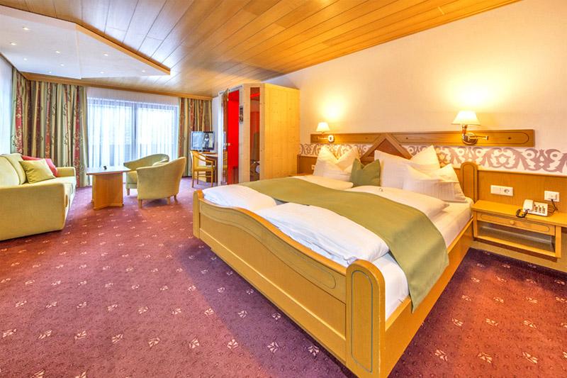 Suite Edelweiss mit Südbalkon ca. 36 m²