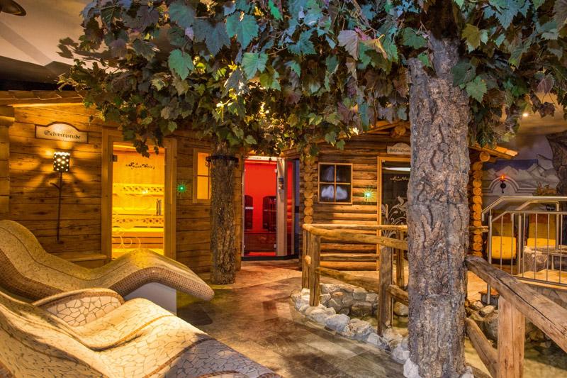 Entspannung im Saunabereich