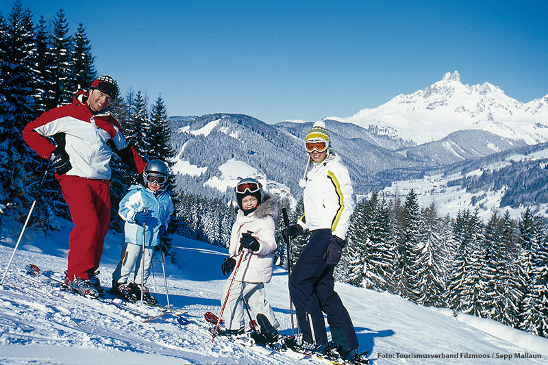 Familienskiurlaub im Salzburger Land