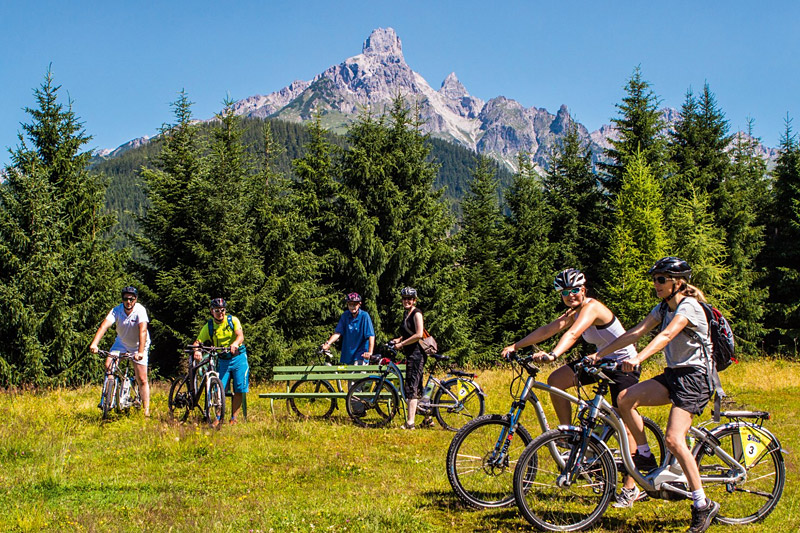 Radtour durch das Salzburger Land