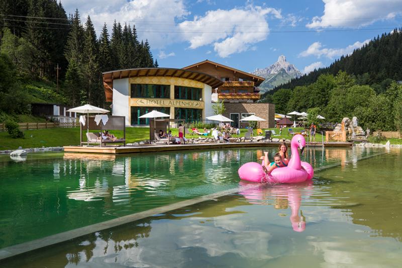 Alpenhof-Sommer-Filzmoos-Schwimmsee