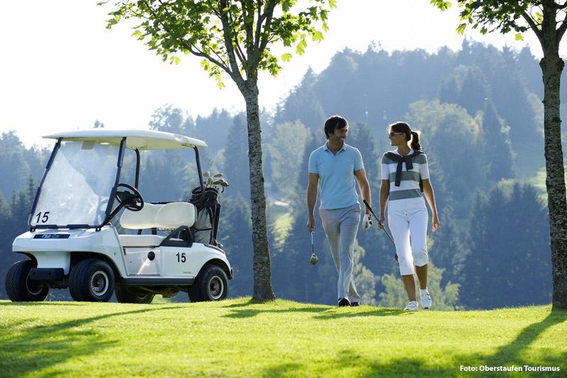 Entspannter Golfurlaub